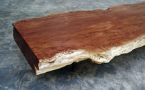 Contemporary coffee table / wooden