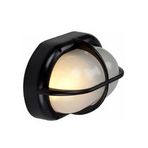 Contemporary wall light / outdoor / glass / polycarbonate
