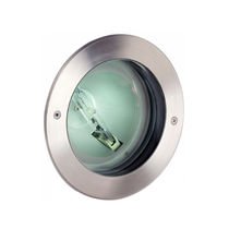 Recessed floor spotlight / indoor / outdoor / HID