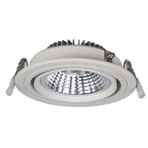 Recessed spotlight / indoor / LED / round