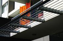 Aluminum solar shading / for facades / horizontal