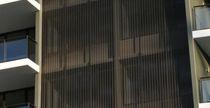 Aluminum solar shading / wire mesh / for facades