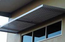 Doors and window canopy / aluminum