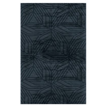 Contemporary rug / patterned / wool / Tencel®