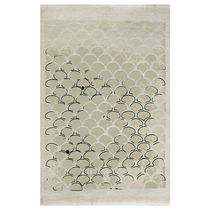 Contemporary rug / patterned / Tencel® / rectangular