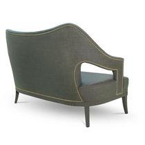 Contemporary sofa / fabric / 2-seater / custom