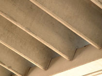 Flat beam / reinforced concrete / double T / for floors