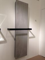 Hot water towel radiator / electric / stone / contemporary
