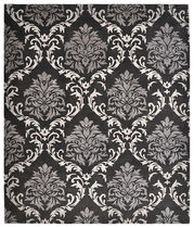 Contemporary rug / patterned / arabesque / wool