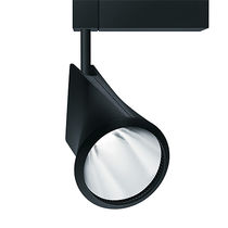 LED track light / round / cast aluminum / for shops