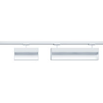 LED track light / linear / cast aluminum / commercial