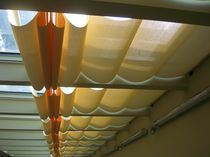 Pleated blinds / fabric / commercial / for roof windows