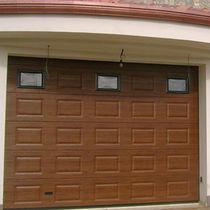 Sectional garage doors / wooden / metal / automatic