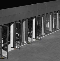 Folding industrial door / galvanized steel
