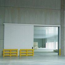 Swing industrial door / sliding / steel / fire-rated