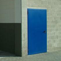 Entry door / swing / metal / security