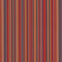 Curtain fabric / striped / polyester / fire-rated