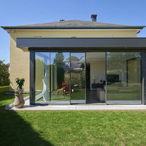 Glass conservatory / aluminum