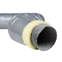Flexible air duct / thermally-insulated