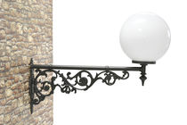 Traditional wall light / outdoor / cast iron / LED