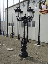 Urban lamppost / traditional / cast iron / LED