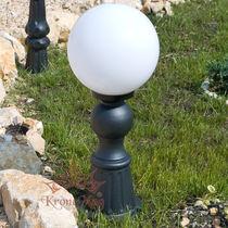 Urban bollard light / traditional / wrought iron / LED