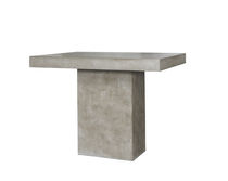 Contemporary high bar table / concrete / rectangular