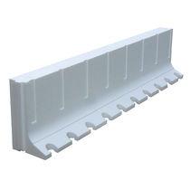 Disposable formwork / lightweight / polystyrene / wall