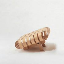 Original design footrest / maple / by Frank Gehry