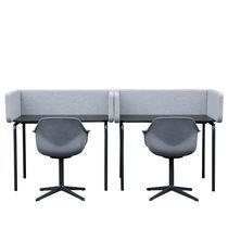 Workstation desk / MDF / contemporary / commercial