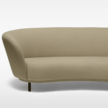 Contemporary sofa / fabric / commercial / 3-seater