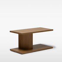 Side table / contemporary / oak / solid wood