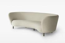 Semicircular sofa / contemporary / fabric / 4-seater