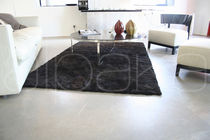 Contemporary rug / plain / wool / rectangular