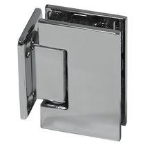 Glass door hinge / brass