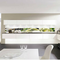 Decorative panel / for kitchens / glass