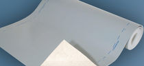 Patio waterproofing membrane / for balconies / self-adhesive / drainage