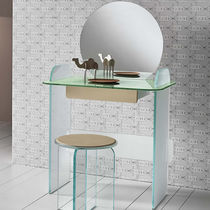 Contemporary dressing table / glass