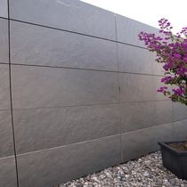 Natural stone cladding / slate / textured / panel