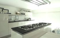 Contemporary kitchen / slate / commercial / matte