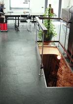 Floor tile / slate / plain / matte