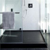 Rectangular shower base / slate / custom