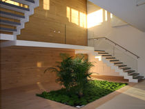 Straight staircase / quarter-turn / half-turn / wooden steps