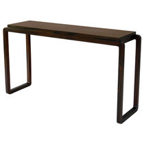 Contemporary sideboard table / wooden / rectangular