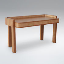 Contemporary sideboard table / teak / rectangular