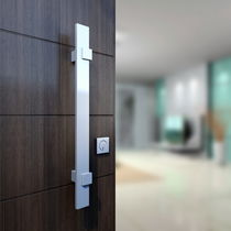 Door pull handle / anodized aluminum / contemporary