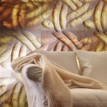 Wall tile / marble / patterned / polished