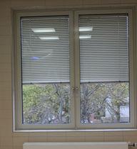 Casement window / composite / triple-glazed / thermal break
