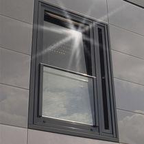 Aluminum window profile / thermally-insulated / waterproof