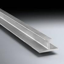 Steel profile / stainless steel / T / custom